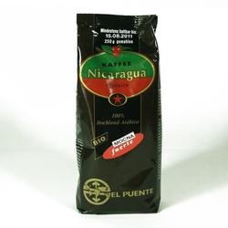 El puente | nicaragua kawa mielona - mocna 250g | organic - fair trade
