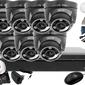 Zestaw do monitoringu: bcs-xvr0801+ 7x kamera bcs-dmqe3200ir3+ dysk 1tb + akcesoria