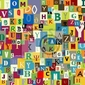 Fototapeta abstrakcyjne tło litery