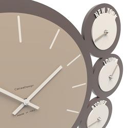 Zegar ścienny london calleadesign czarny 12-006-5