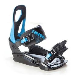 Wiązania snowboardowe raven s200 black  blue 2020