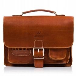 Klasyczna torba do ręki torba na ramię plecak 3w1 paolo peruzzi brązowa