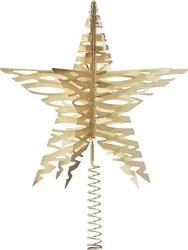 Gwiazda na czubek choinki tangle