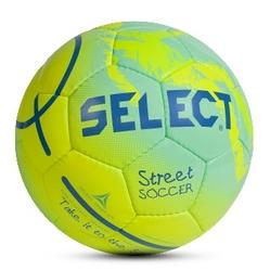 Piłka nożna select street soccer zielono-żółta