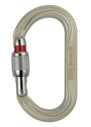 Karabinek stalowy oxan screw-lock