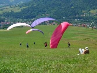 Weekend w górach dla dwojga z lotem paralotnią - bielsko biała