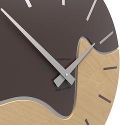 Zegar ścienny oliver calleadesign szary 10-101-3