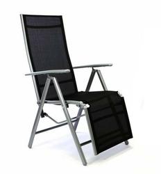 Krzesła ogrodowe 2szt. regulowane,  krzesła z podnózkiem