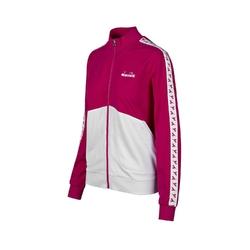 Zestaw dresowy damski diadora l.fz suit core - różowy