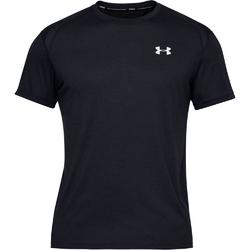 Koszulka męska under armour streaker 2.0 shortsleeve - czarny