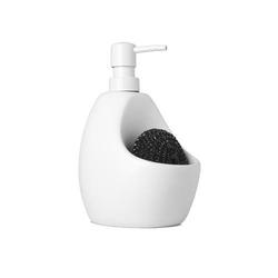 Dozownik do mydła joey biały - biały