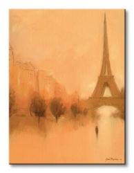 Stranger in paris - obraz na płótnie