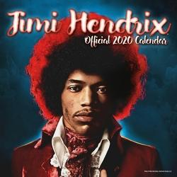 Jimi Hendrix - kalendarz 2020