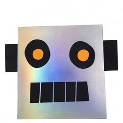 Meri meri - szkicownik z naklejkami robot