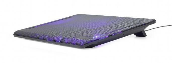 Gembird Podstawka pod laptop 15.6 + wentylator