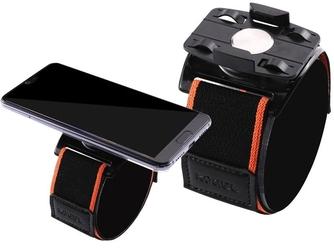 Opaska sportowa kogel na nadgarstek i ramię do telefonu armband black