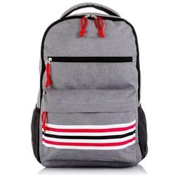 Plecak szkolny młodzieżowy na laptopa szary everhill