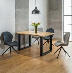 Stół do jadalni umberto 18090 w stylu industrialnym