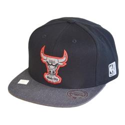 Mitchell  ness team nba logo bulls snapback - mn-hwc-intl305-chibul-blk-os