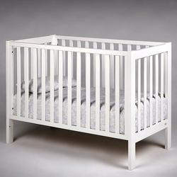 Loft łóżeczko dziecięce 120x60 k. biały