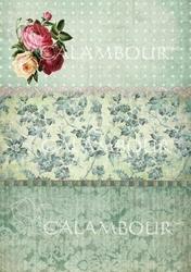 Papier ryżowy Calambour 33x48 cm róże