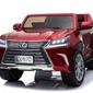 Lexus lx570 lakierowany czerwony samochód na akumulator + pilot