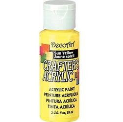 Farba akrylowa Crafters Acrylic 59 ml- żółty słoneczny - ŻÓŁSŁO