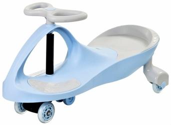 Pojazd dziecięcy twistcar - pastelovy niebieski świecące kółka