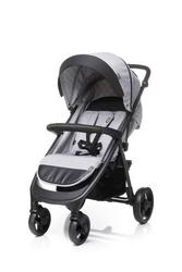 4baby quick light grey wózek spacerowy + ocieplacz + uchwyt + folia