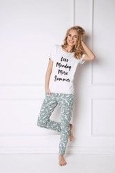 Piżama damska aruelle tropics long