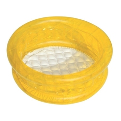 Bestway basen brodzik dla dzieci miękkie dno żółty