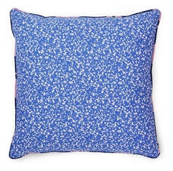 Poduszka dekoracyjna Posh Busy Structure niebieska
