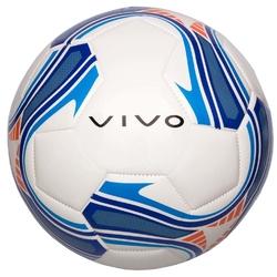Piłka nożna vivo goal 5 biało-niebieska
