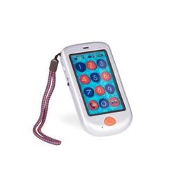 B.toys hi phone – dziecięcy telefon dotykowy smartfon - metallic srebrny - srebrny