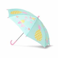 Parasol, Ananasy, miętowo-różowy, Penny Scallan