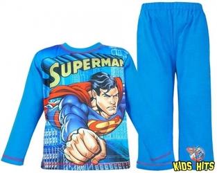 Piżama superman man of steel 7-8 lat