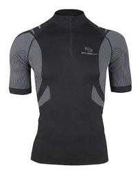 Brubeck ss10410 koszulka rowerowa czarny