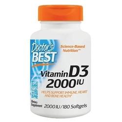 Doctors best vitamin d3 2000 iu - 180softgels