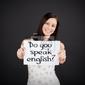 Obraz czy mówisz po angielsku