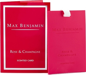 Karta zapachowa rose  champagne