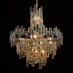 Lampa wisząca w stylu nowojorskim monarch regenbogen neoclassic 121010611