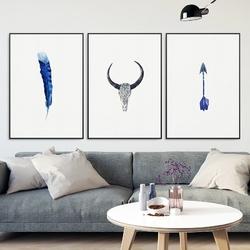 Zestaw trzech plakatów - adventure art , wymiary - 30cm x 40cm 3 sztuki, kolor ramki - biały