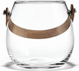 Wazon Design With Light przezroczysty 10 cm