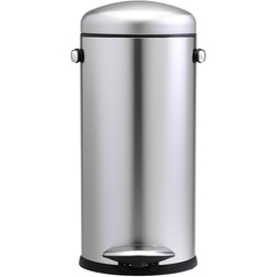Kosz na śmieci pedałowy retro 30 litrów simplehuman stal fpp cw1880