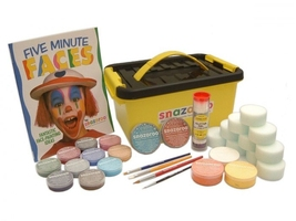 Snazaroo professional face painters kit 1500 zestaw farb do malowania twarzy