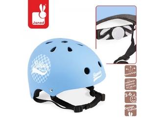 Niebieski kask rowerowy bikloon
