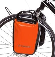 Sakwy rowerowe crosso dry small 30l - pomarańczowe