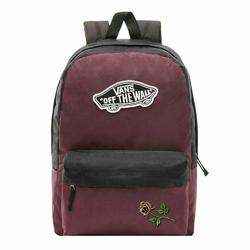 Plecak szkolny Vans Realm Prune Purple Black - VN0A3UI6TQR - Custom Powder Rose