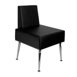 Gabbiano fotel do poczekalni d-23 czarny