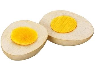 Drewniane jajko do nauki krojenia